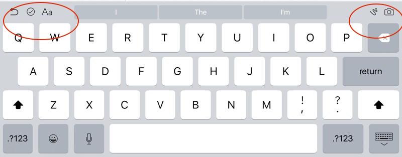 ios9 keyboard ipad