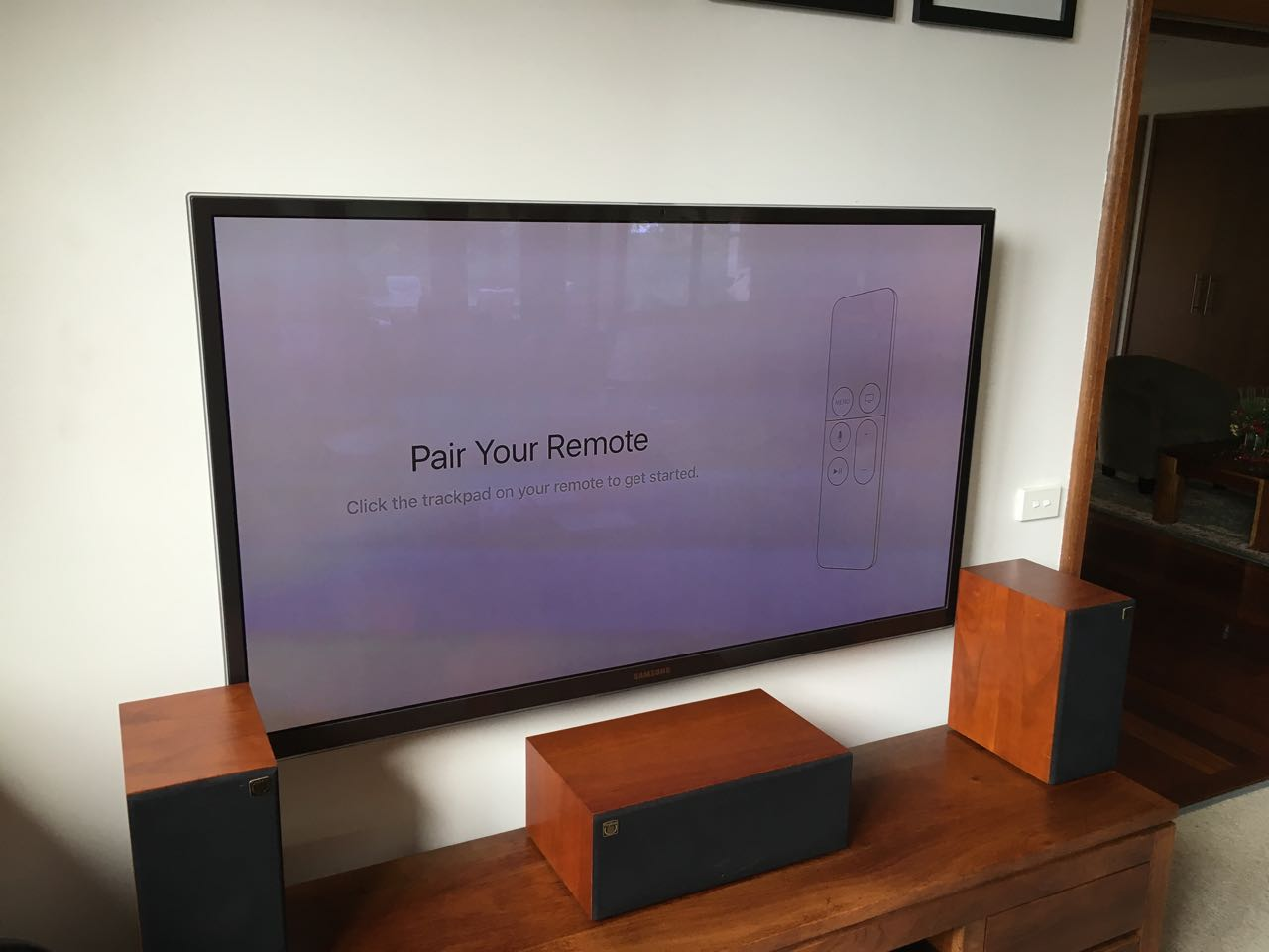 pairing apple tv with iOS