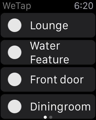 controlling wemo with apple watch